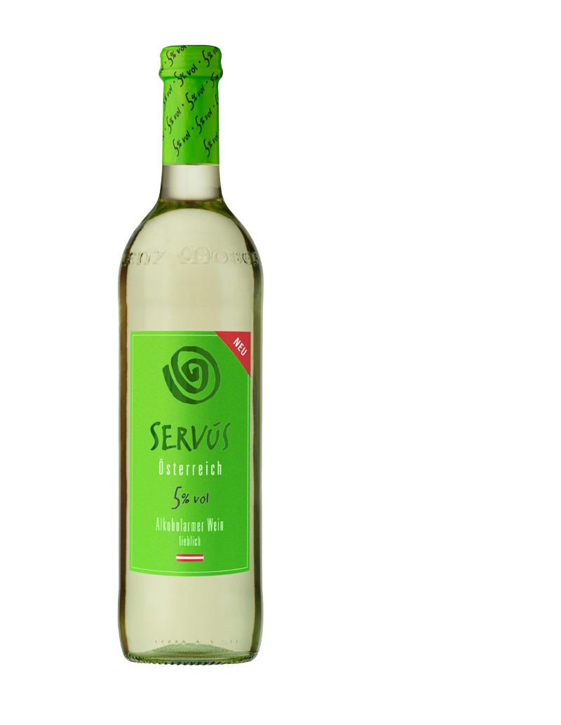 Servus to less alcohol
